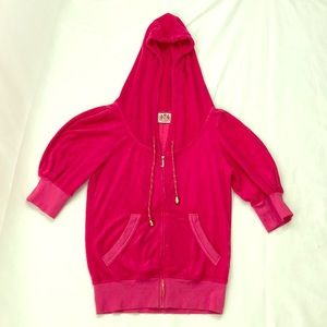 Juicy Couture M pink w/pockets jacket.